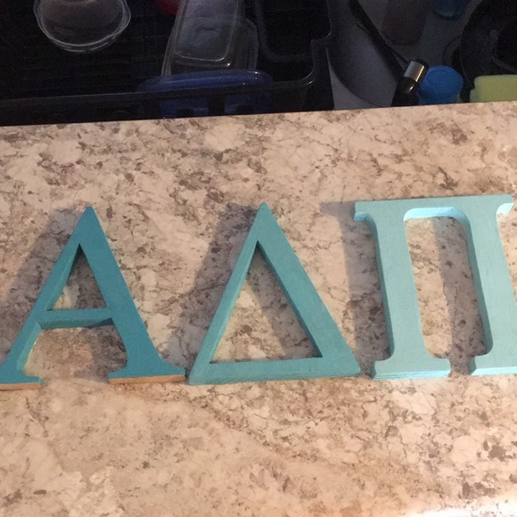 Adpi Wooden Letters